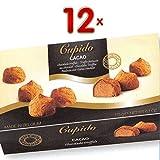 Cupido Cacao chocolade truffels 12 x 175g Packung (Trüffelpralinen mit Kakao umhüllt)