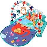 Tappetino da Gioco Palestrine Tappeto per Bambini con Pianoforte, Struttura Che Promuove Il Movimento dei Tuoi Piccoli, Tappe
