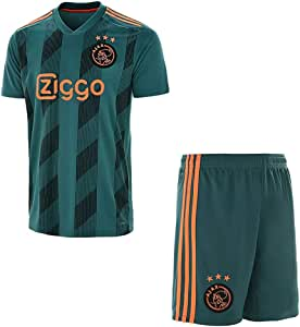 Zhouwei222 Maglia da Calcio Personalizzata 2019-2020 Kit Maglia da Calcio (Casa e Trasferta) Top Camicia + Pantaloncini + Calzini Set-Personalizzati con Nome e Numeri