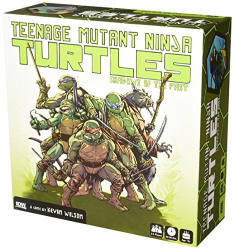 (Teenage Mutant Ninja Turtles: Shadows of the Past Boardgame)