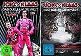 Joko gegen Klaas - Das Duell um die Welt: Die komplette erste + zweite Staffel im Set - Deutsche Originalware [5 DVDs]
