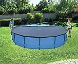 Bestway Abdeckplane für Frame Steel Pool 457cm und Stahlwand Pool 460cm