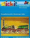 stickit Mini Stecksystem Dampflokomotive Nürnberger Adler ca. 9.200 Teile Nr. 42138