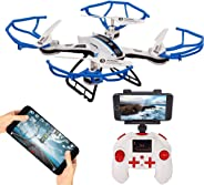 SUPER TOY RC 360p Wi-Fi Drone with HD Camera - Quadcopter