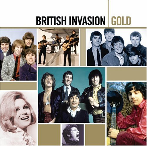 Gold - British Invasion [2 CD] by Various Artists (British Invasion-gold)