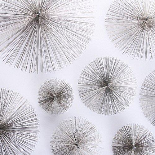 Kaminbesen Stahl runder Schornsteinbesen Kamin Esse Kaminzubehör verschiedene Größen (17,5cm)