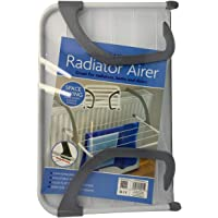 DIVCHI 5 Bar Radiator Folding Airer Radiator Towel Holder Clothes Dryer Drying Rack Rail