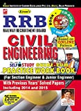 RRB Civil Engineering Self Study Guide-Cum-Practice Work Book (For Section Engineering & Junior Engineer) with Previous Years Solved Papers  (With CD) - 1867