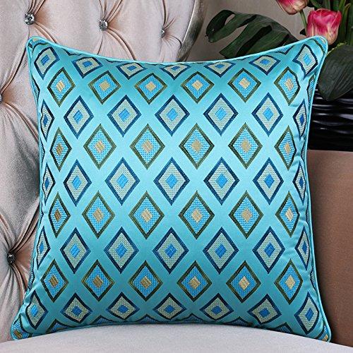 RFVBNM Hotel Boutique de lujo de Estilo europeo de cabecera almohada Gran sofá cojín Lumbar posterior Chip de soporte-