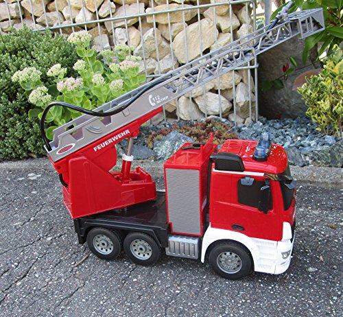 RC Feuerwehr kaufen Feuerwehr Bild 1: RC Feuerwehr Mercedes 2 er Set Antos 2,4 GHz 1:20 & Sprirtzfunktion 404960/7*