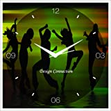 DESIGN CONNECTION Dance with Music Wall Clock