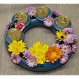 Blumenring mit abnehmbaren Tüllen, individuell zu dekorieren