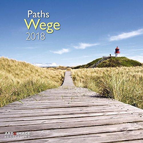 Wege 2018 Broschürenkalender: Paths