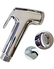 SUCASA Handheld Bidet Health Faucet Toilet Wash Jet Spray Shower Head Douche Shatta Chrome Valve Bathroom Sprayer