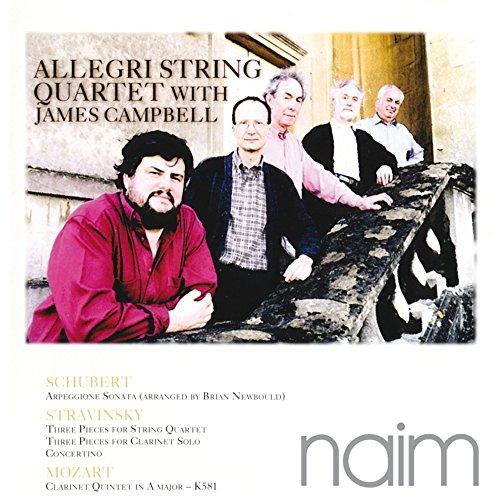 Allegri String Quartet - With James Campbell