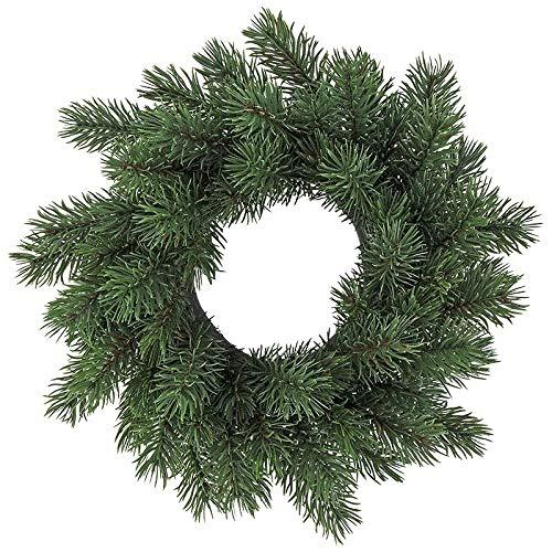 Ideen mit Herz Deko-Kranz | Weihnachten & Winter (Edel-Tanne - Ø 25cm)
