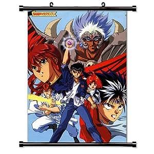 "Yu Yu Hakusho Anime Fabric Wall Scroll Poster (16"" x 22"") Inches"