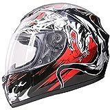 Best Crash Helmets - Leopard LEO-819 Full Face Motorbike Helmet Scooter Motorcycle Review