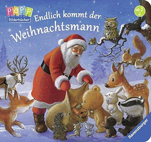 Endlich kommt der Weihnachtsmann