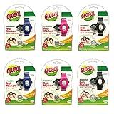 Globol 6X Anti-Mücken Moskito Armband | Mückenarmband Insektenschutz | Antimückenarmband Set | Armbände Mückenschutz