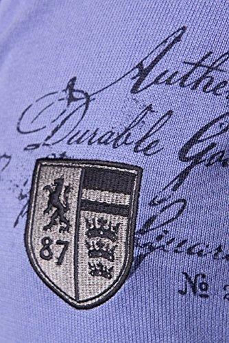 State of Art Herren Pullover Strickjacke REGULAR FIT, Farbe: Violett Violett
