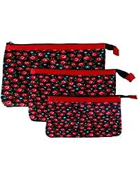 Multi Purpose Pouches And Bag(Set Of 3 L/M/S)Digital Printed - B019F9BOE2