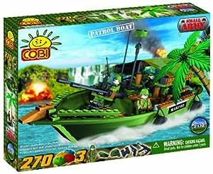 COBI - 2370 - Military 270 blocks 3 fig. Patrol Boat