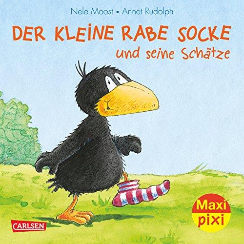 Maxi-Pixi Nr. 196: VE 5 Der kleine Rabe Socke und seine Schätze