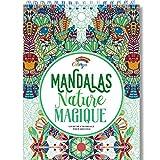 Livre de Coloriage Adultes Mandalas Anti-Stress Nature Magique: le Premier Cahier de Coloriage sur Papier Artiste au Format A4 sans Bavure par Colorya...