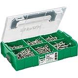 SPAX montagekoffer, L-BOXX Mini, klein, WIROX A3J, T-STAR plus, verzonken kop, 6 afmetingen, 703 stuks, incl. 3 SPAX BITs T20
