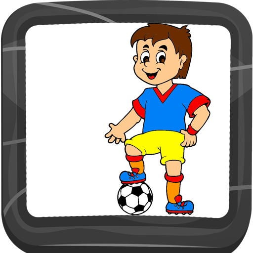 Fußball Malbuch