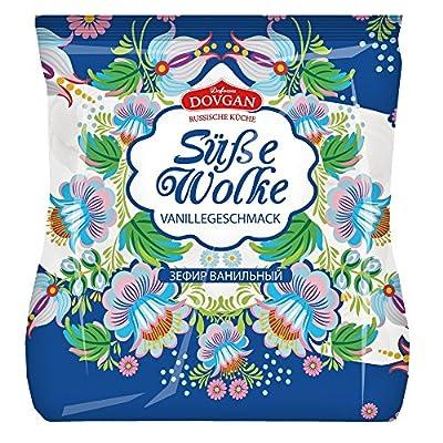 Dovgan Süße Wolke, Schaumgebäck mit Vanillegeschmack, 10er Pack (10 x 240 g)