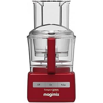 Magimix - 85319EA - Robot Multifonction 3200 XL, Rouge - presse fruits inclus