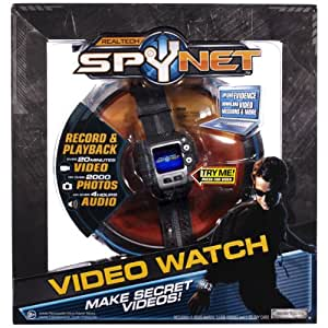 Jakks Pacific – SpyNet – Video Watch – Montre Camera Espion (Import Royaume-Uni)