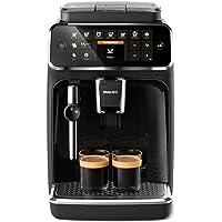 Philips 4300 Serie EP4321/50 Kaffeevollautomat, 5 Kaffeespezialitäten (Panarello) Matt-Schwarz/Klavierlack-schwarze…
