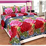 Bedsheets By Multitex Double Bedsheets Cotton|bedsheets With Pillow Cover Combo|bedsheets Plain Double King Size|bedsheet In 70% Discount| 5d Bedsheets|2 Bedsheets With 4 Pillow Covers