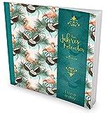 GOCKLER 3 Jahres Kalender: 190+ Seiten Journal für 3 Jahre || Glänzendes Softcover || Ideal als Tagebuch, Terminplaner, Notizkalender oder Tagesplaner || DesignArt.: Tropisch