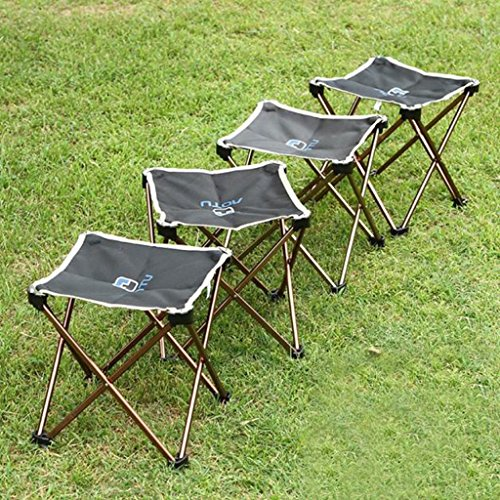 61FffDGXJ5L. SS500  - Portable Folding Camping Chair - Kingwo Outdoor Folding Aluminum Chair Stool Seat Children Chair for Aotu Fishing…