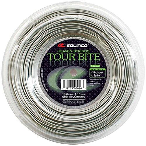 Solinco Saitenrolle Tour Bite, Silber, 200 m, 0555020120600010