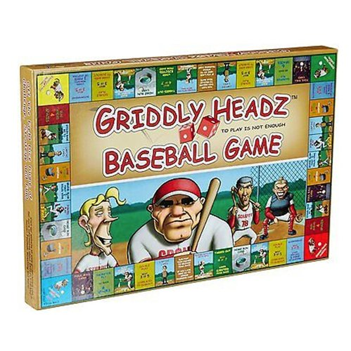 Griddly Games Inc D4000279 Griddly Heads Baseball Deluxe Edition
