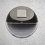 Laogg LED Wandbeleuchtung, Super Bright LED Outdoor Power Wandleuchte und Fernbedienungssensor Wasserdichte Solar Lampe für Garten Wandleuchte Größe: 11 * 11 cm