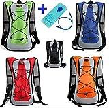 Theoutlettablet® Wasserdichte Rucksack für Fahrrad-Fahrrad-Hydratation-Wasser-Beutel (2L) 5 Liter Kapazität Rucksack Berg - Wandern - Mountainbike - MTB - Typ Camelbak