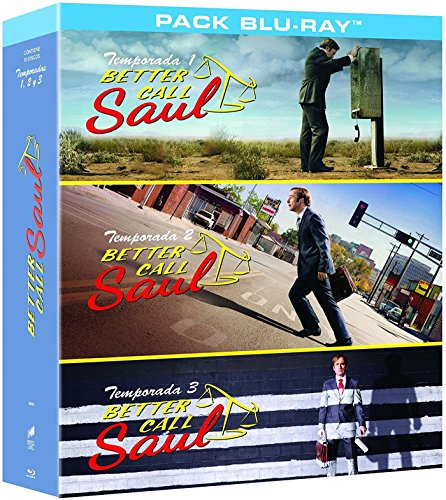 Better Call Saul - Temporadas 1-3 [Blu-ray]