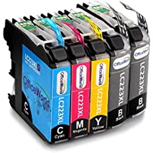 OfficeWorld Replacement for Brother LC223 Ink Cartridges Compatible for Brother DCP-J4120DW MFC-J5320DW DCP-J562DW MFC-J880DW MFC-J5620DW MFC-J680DW MFC-J4625DW MFC-J5720DW J4420DW J4620DW J4625DW