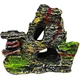 Godagoda Aquarium Dekoration Set Unechte Künstliche Simulation Gefälschte Stein Form Landschaft