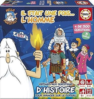 Educa Borrás - 17353.0 - Mini Jeu Il Etait Une Fois... L' Homme