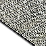 Design Bodenschutzmatte Matera in 6 Größen | dekorative Unterlegmatte für Bürostühle oder Sportgeräte (100 x 180 cm)