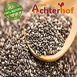 1 kg Chia Samen Premiumqualität aus Südamerika mit Analysezertifikat Chiasamen