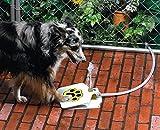 Maycong Bol à Boire Cat L'animal de Compagnie Potable des fontaines automatiques extérieures d'eau fraîche de Chiens avec la Pédale de Pression