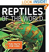 #6: Reptiles of the World Fun Facts for Kids: Reptile Books for Children - Herpetology (Children's Zoology Books)